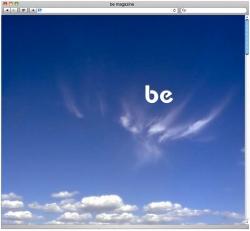 Be Magazine - Website