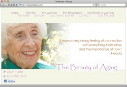 Beauty of Aging Website