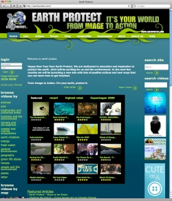 Earth Protect Website