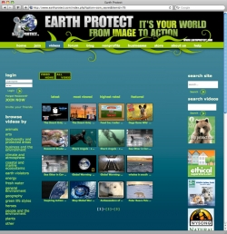 Earth Protect Website - Videos
