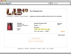 Lab40 Website Shopping Cart