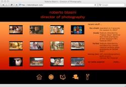 Roberto Blasini Website