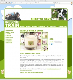 The Rescue Train - Online Store