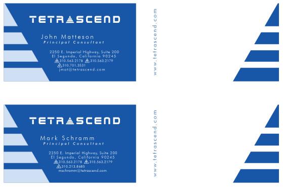 Business cards wackypuppy design tetrascend business card colourmoves