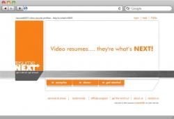 Resume Next Website - Demo