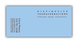 Blue Heron Landscaping Business Card