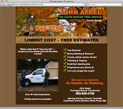 The Eager Beaver Tree Service Home