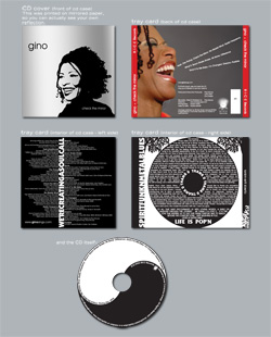 Gino CD Packaging