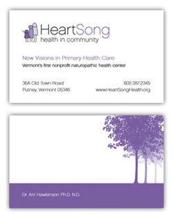 Heartsong Business Card