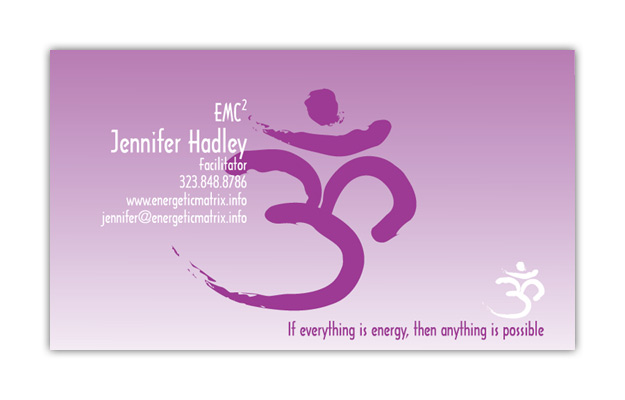 Jennifer Hadley Business Cards
