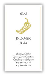 Ojai Jalapeño Jelly Business Card