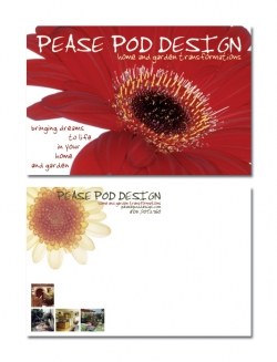 Pease Pod Postcard