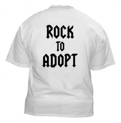 Rescue Train Rock to Adopt Tshirt