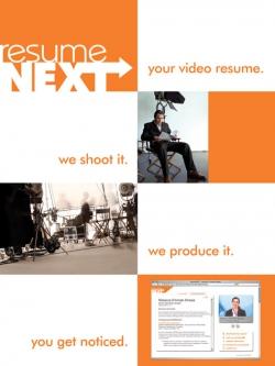 Resuem Next Poster