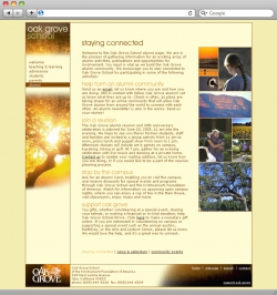 Oak Grove School Website - Alumni