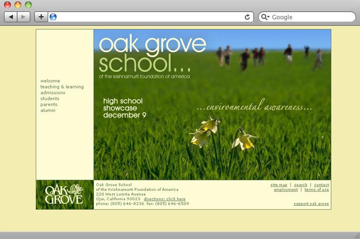 oak grove school | wackypuppy design