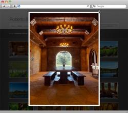 Roberto Blasini Photography Website - Detail