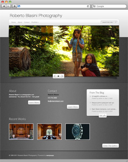 Roberto Blasini Photography Website - Home