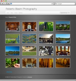 Roberto Blasini Photography Website - Portfolio