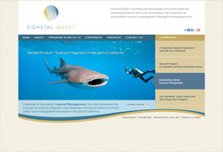 Coastal Quest Website - Home
