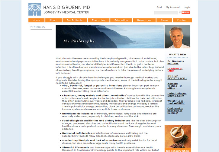 Dr Gruenn Website - About
