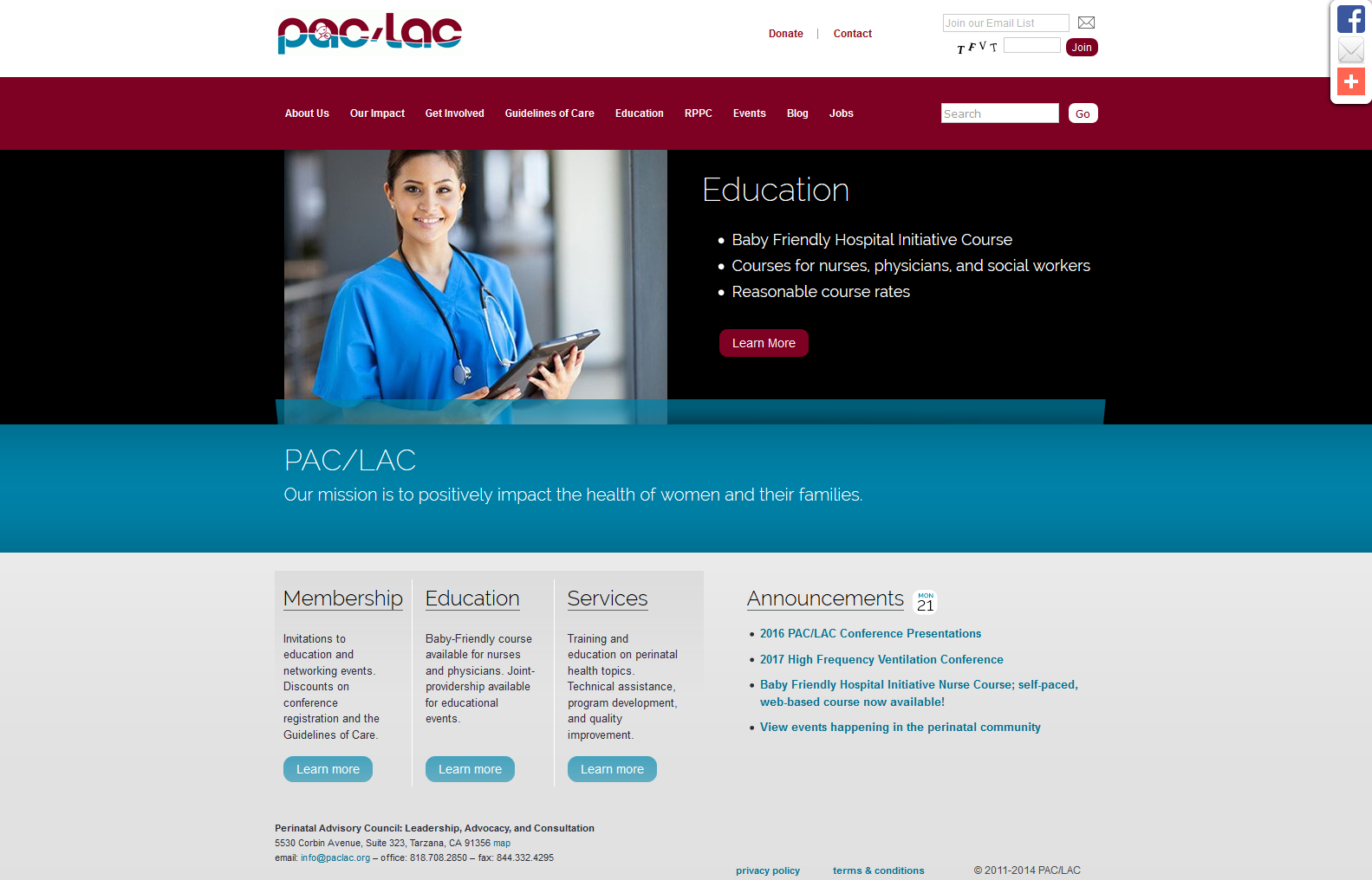 PAC/LAC